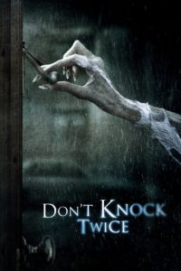 Poster Don't Knock Twice (No toques dos veces)