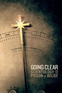 Poster Going Clear: Scientology and the Prison of Belief