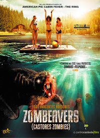 Poster Castores Zombies