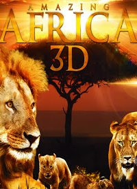 Poster Amazing Africa 3D