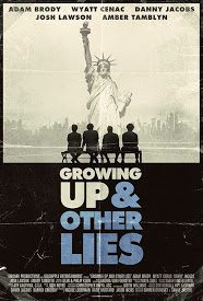 Poster Growing Up and Other Lies