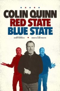 Poster Colin Quinn: Red State Blue State