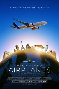 Poster Living in the Age of Airplanes