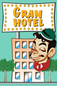 Poster Cantinflas: Gran Hotel